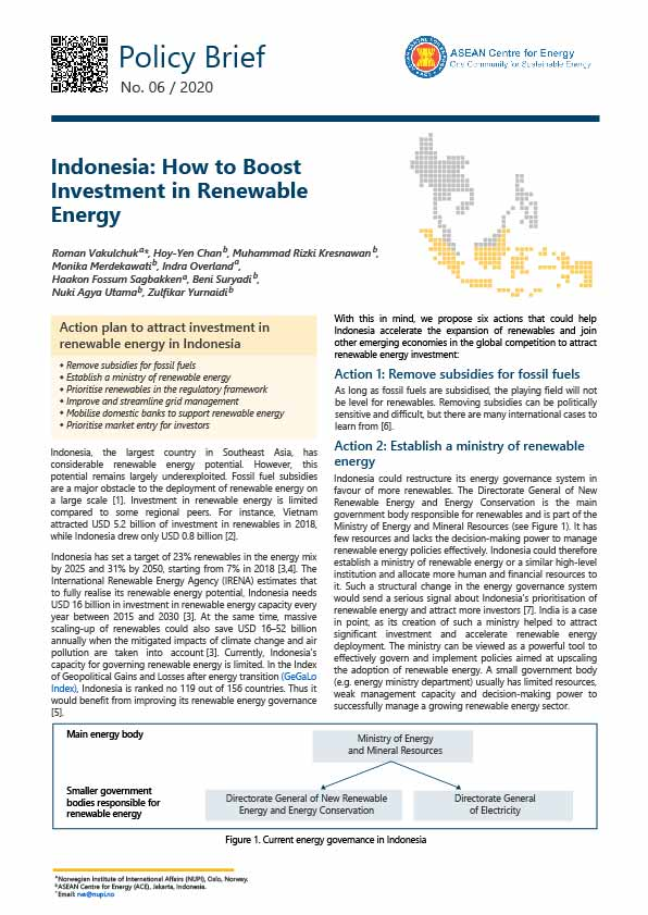 RE Investment Indonesia