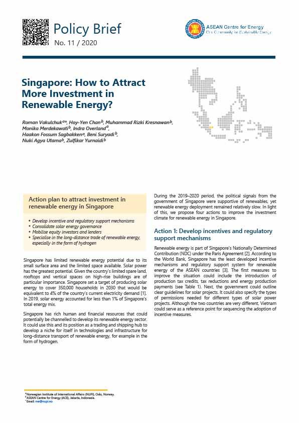 RE Investment Singapore